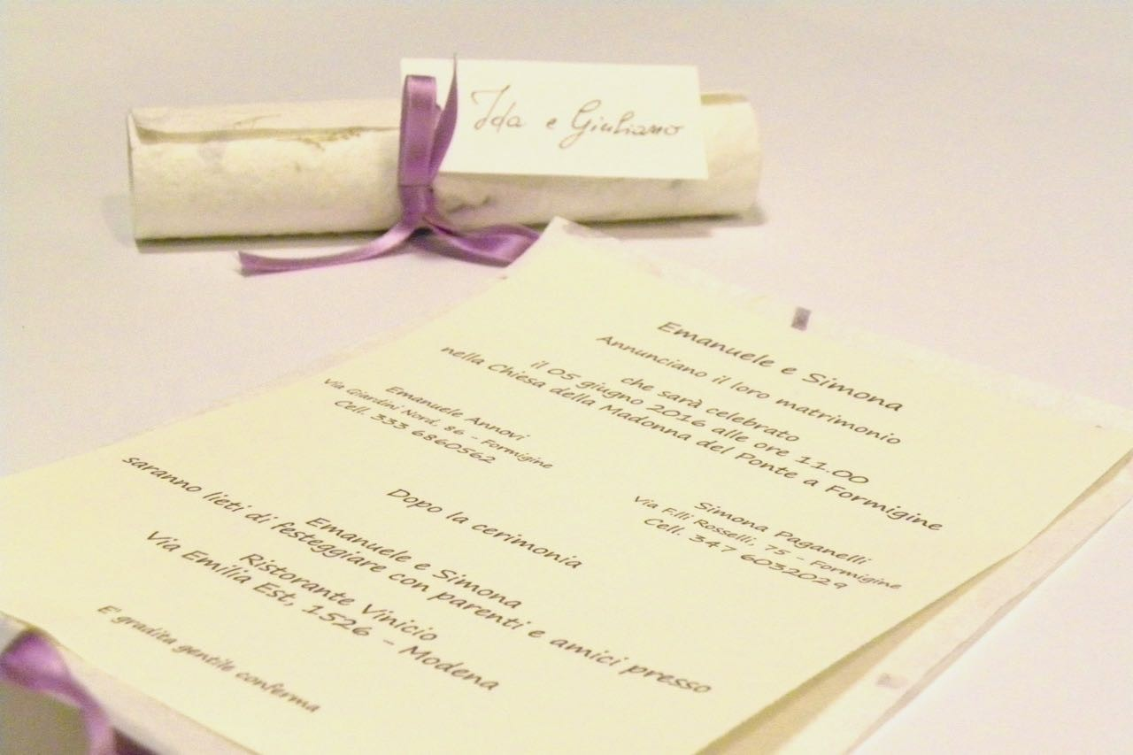 Papyrus Wedding Invitations: Wedding Invitation