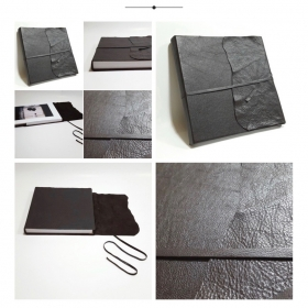 PhotoBook Florence covered in real leather