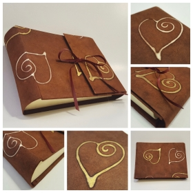Photo album Batik Hearts