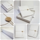 Photo Album white line and chamois leather