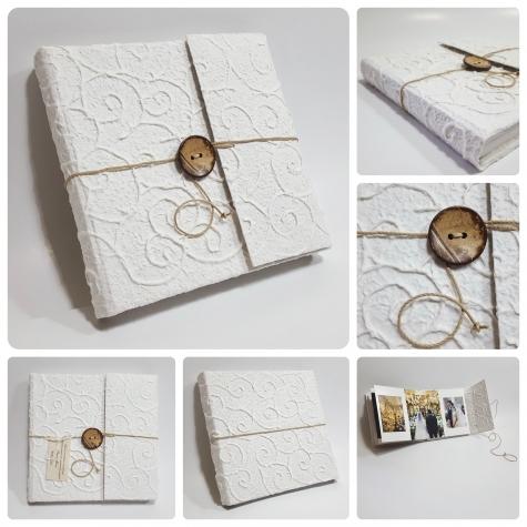 Photobook white spirals