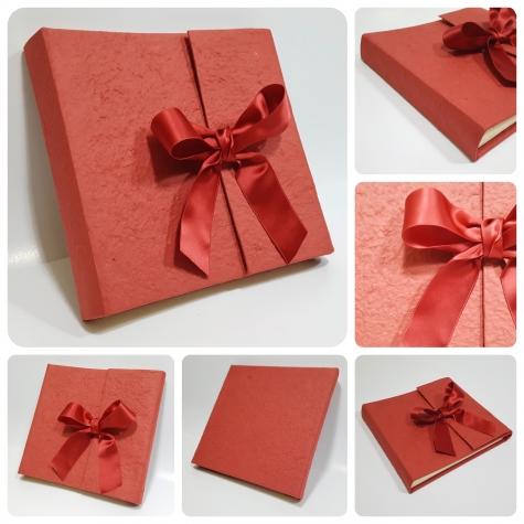 Photo album Red Paper